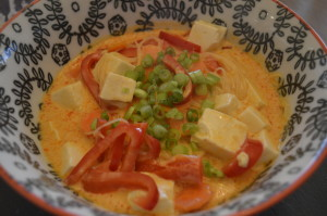 Coconut Red Curry Thai Noodle Soup
