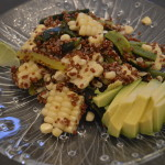 corn and roasted red pepper quinoa salad