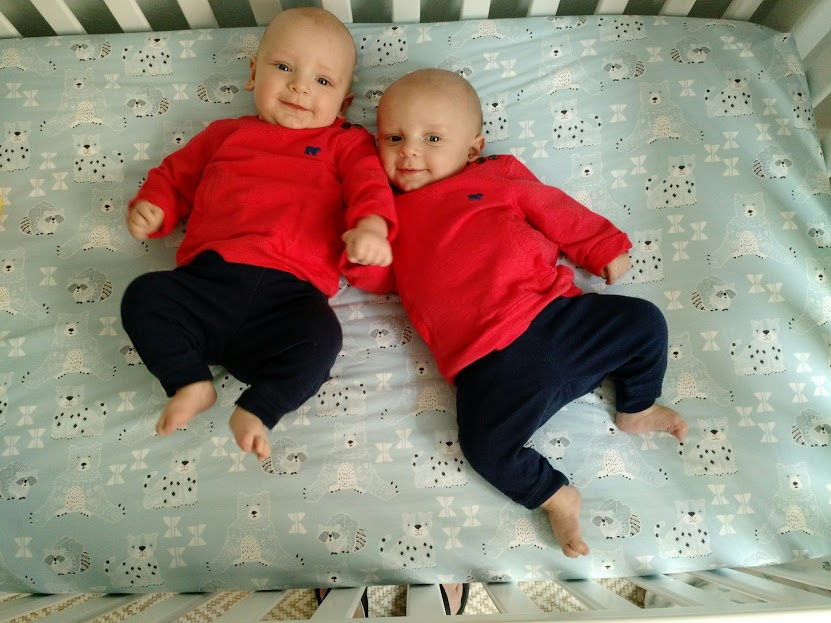 Transitioning Twins Out Of Swaddles