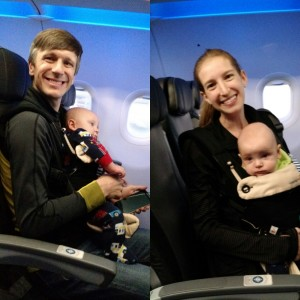 Flying with Infant Twins