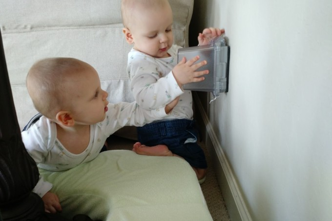 babyproofing outlets