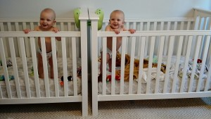 Twins Schedule and Goals at 11 Months