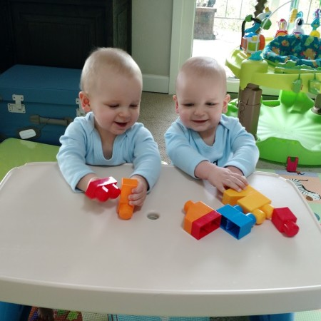 mega blocks twins toy 12 months