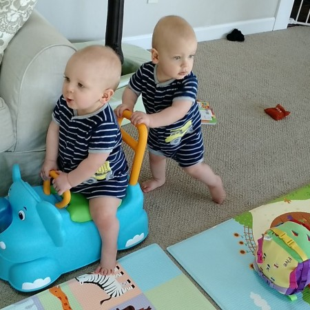 scoot around elephant twins little tikes