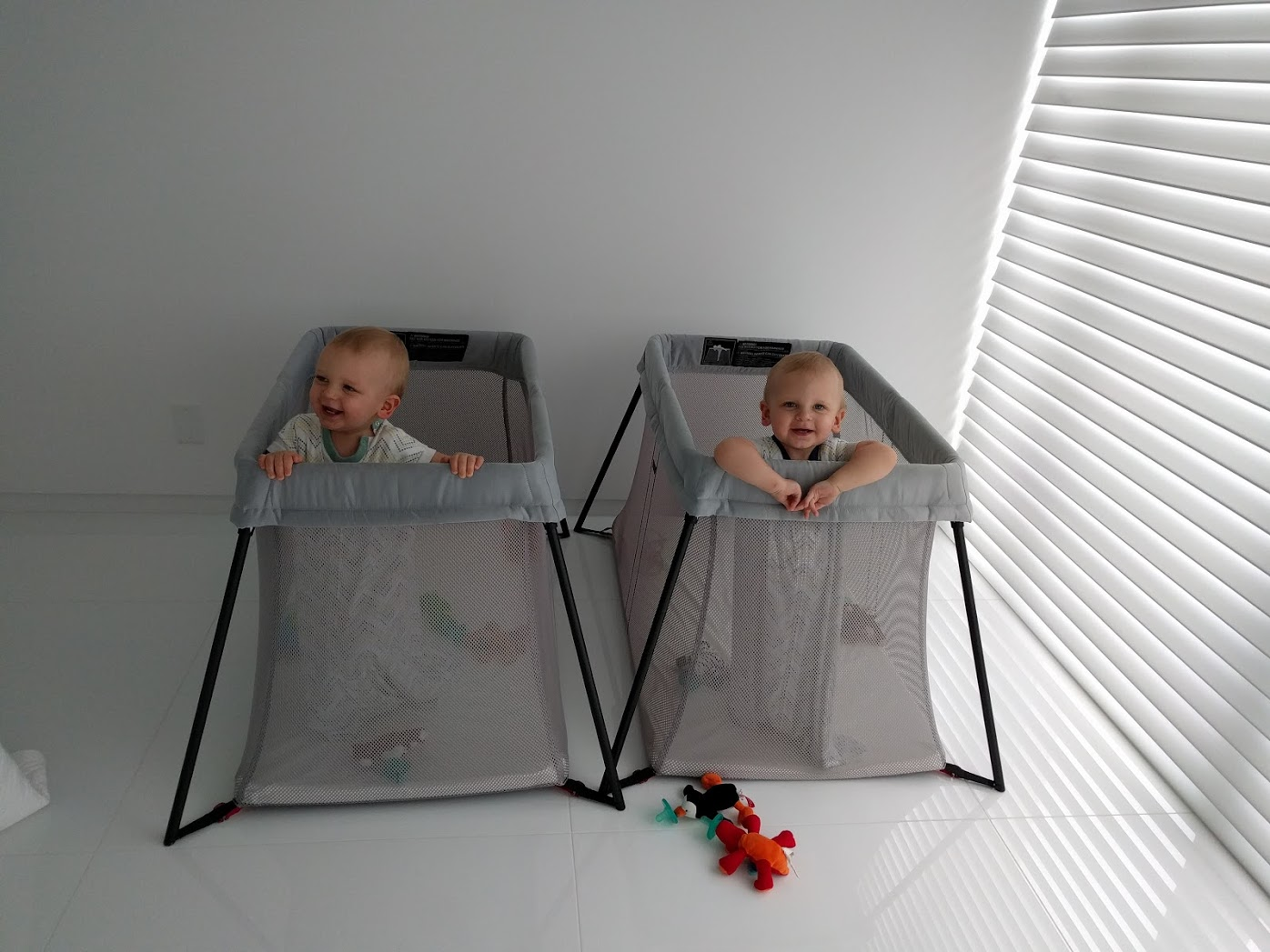 bjorn travel cribs for twins
